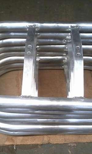 Anel Anti Corona em Tubo de Alumínio