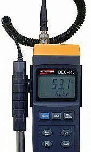Aparelho decibelímetro