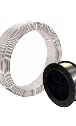 Arames de inox para metalização