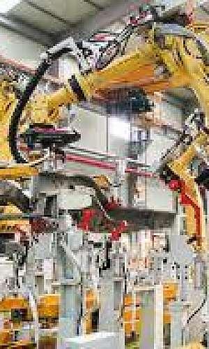 Automação industrial de máquinas industriais