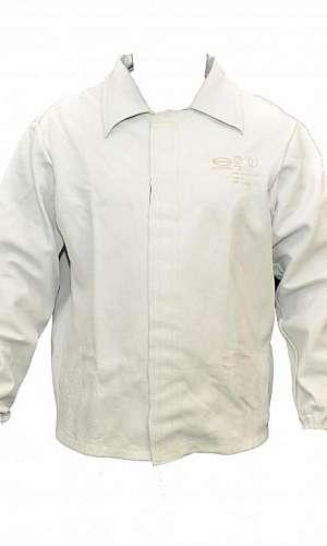 Blusão de raspa de couro para soldador