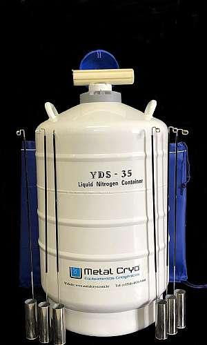 botijão de nitrogênio