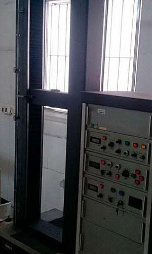 Calibração de máquinas universal de ensaio tração