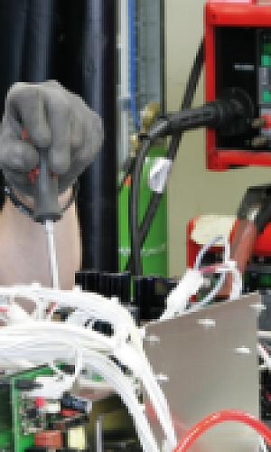 Conserto de máquina de solda MIG