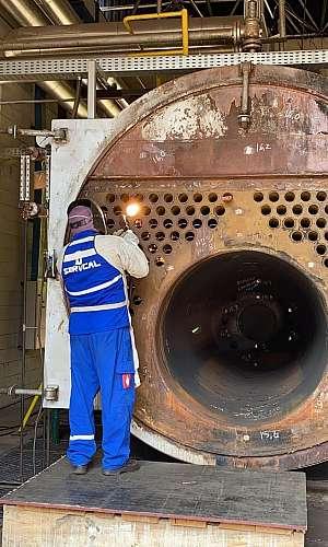 Empresa de manutenção de caldeira a gás