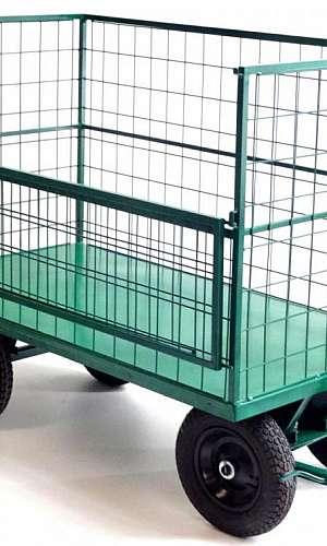 Fabricante de carrinho de carga aramado