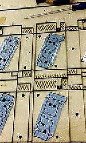 Facas de corte para máquinas planas