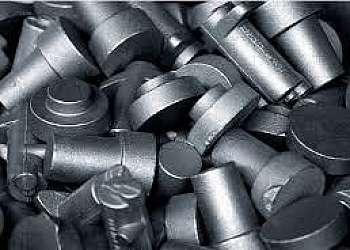 Ensaio de dureza ferro fundido cinzento