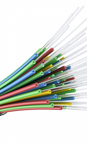 Instalação de fibra óptica