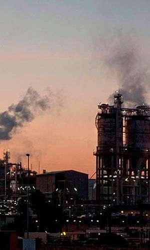 Laboratório industrial metalúrgico