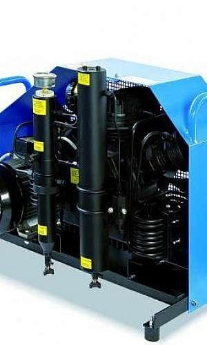 locação de compressor para recarga