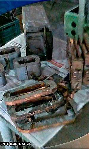 Manutenção corretiva em transformadores de solda