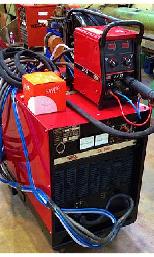 Manutenção de máquina de solda Hsoldas