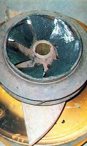 Manutenção para corrosão