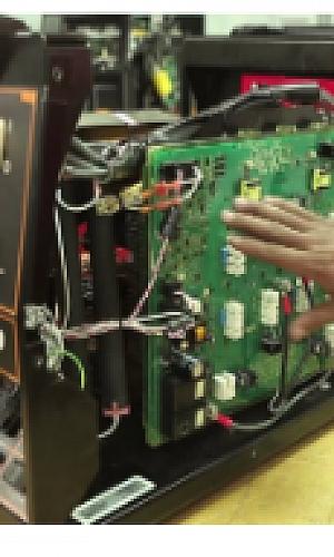 Manutenção preventiva de máquina de solda SP