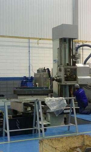 Manutenção preventiva máquina de usinagem