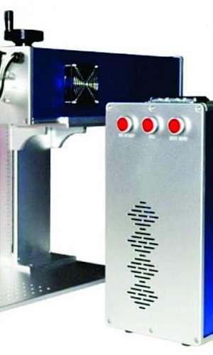 Máquina de gravação a laser portatil