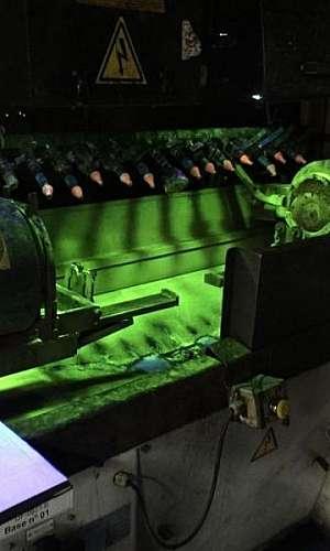 Máquina de partícula magnética