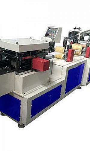 Máquina de touca plástico