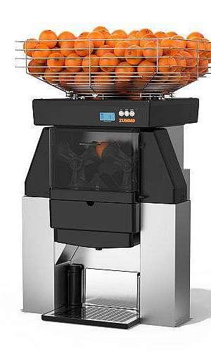 máquina suco laranja automática