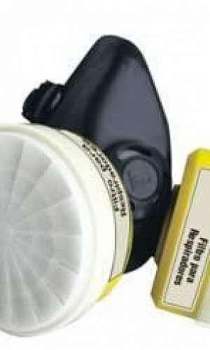 Máscara respiratória para soldador