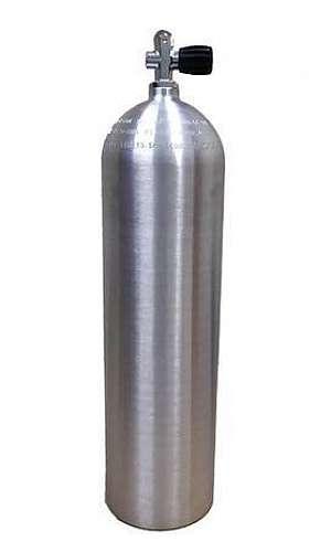 Recarga de cilindro de mergulho