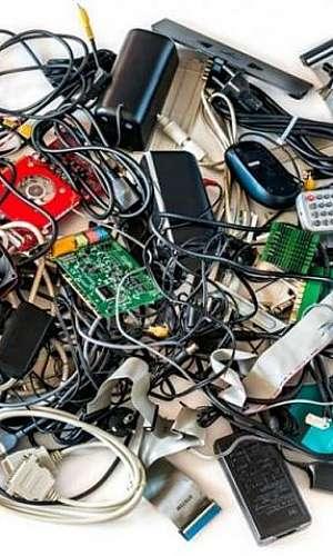 Reciclagem de componentes eletrônicos