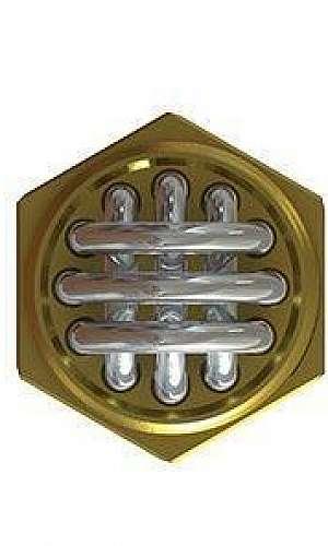 Resistência elétrica tubular de imersão