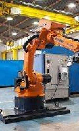 Robô soldador