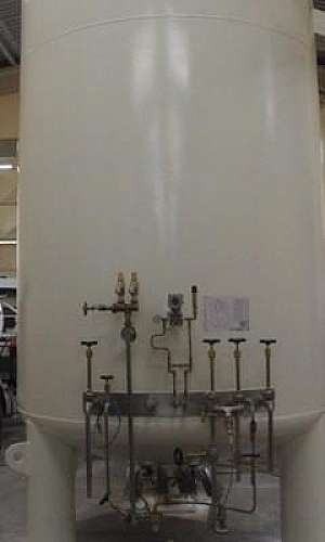 tanque criogênico de oxigênio