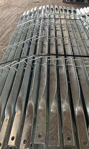 Tratamento de superfície zincagem